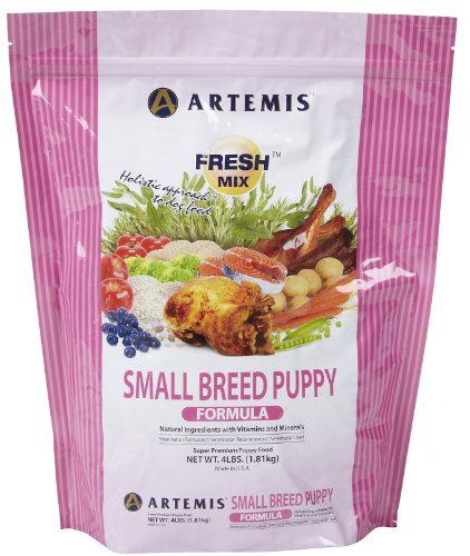 Artemis Fresh Mix – Small Breed Puppy – 4 lb, My Pet Supplies