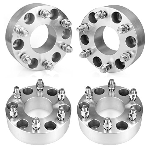 Hub Centric Wheel (Orion Motor Tech 4pcs Hub Centric Wheel Spacers / Adapters for Chevy GMC - 2