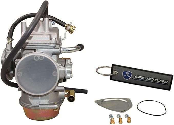 NICHE Carburetor and Fuel Pump Kit for 2003-2007 Polaris Outlaw Predator 500 2520227 3131574 3131650