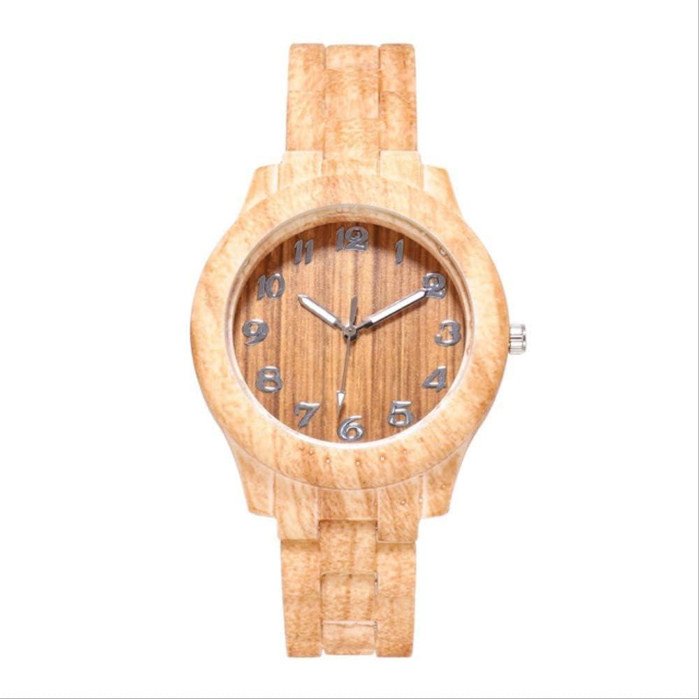 Wood Grain Men's Women Watch Relасы Relogio Simple Fashion Digital Quartz Watch High-End Reloj Inteligente Mujer Reloj