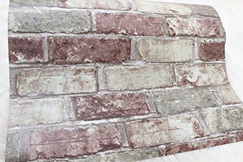 Slavyanski Vinyl Wallpaper Red Green Rustic Coverings Textured Old