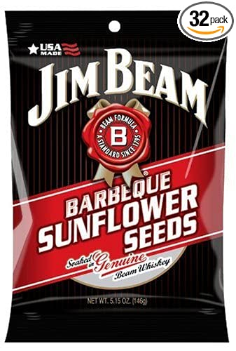 Jim Beam barbacoa de semillas de girasol, 5.15-ounce ...