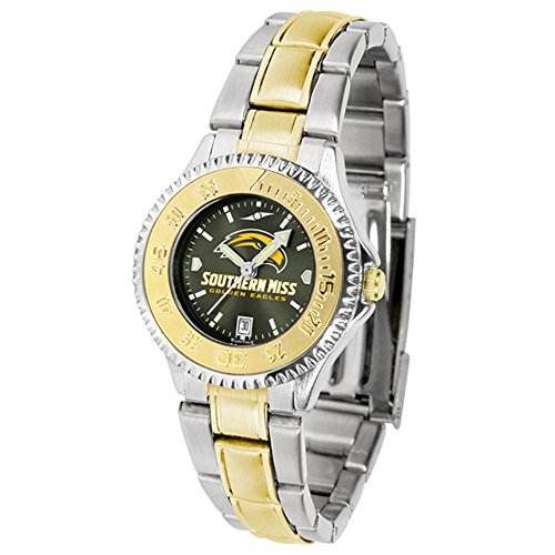 - Southern Mississippi Golden Eagles Competitor Two-Tone AnoChrome Women's Watch