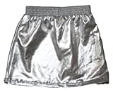 Petitebella Plain Silver A-Line Skirt for Girl 1-8y (6-8 Years)