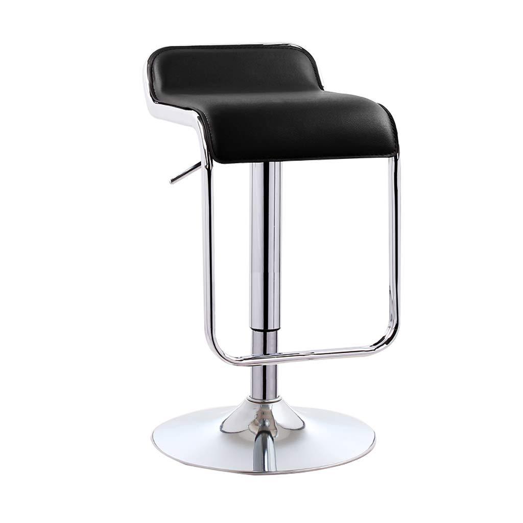 BLACK 38.5cm A-Fort Bar Chair Lift redation Simple bar Chair bar Stool Cash Register high Stool European bar Stool Business Hall Front Desk Stool (61-81cm) (color   Green, Size   41CM)