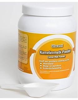 420gr Camel leche en polvo en frasco de plástico sellado, 100% natural y europeo