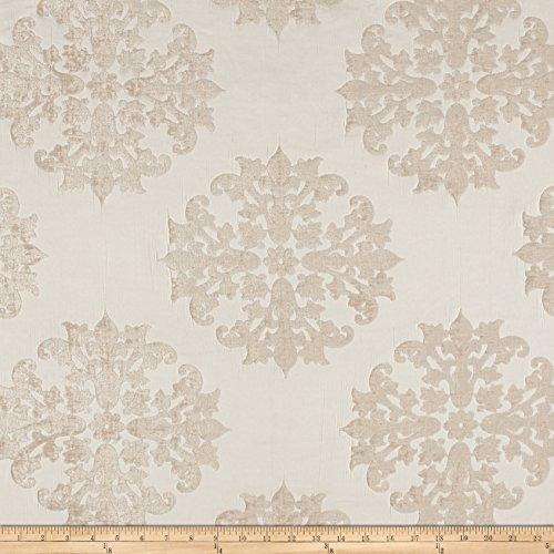 Bellagio 0514882 Monterey Court Chenille Jacquard Dove Fabric by The Yard