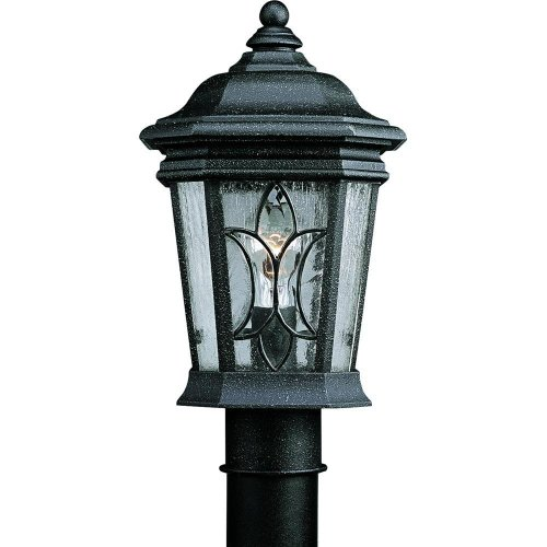 - Progress Lighting Cranbrook Collection 1-light Outdoor Gilded Iron Post Lantern