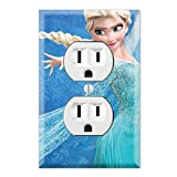 Duplex Wall Outlet Plate Decor Wallplate - Frozen Alsa