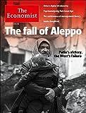 The Economist Magazine (December 17-23, 2016), 'Fall of Aleppo' Cover