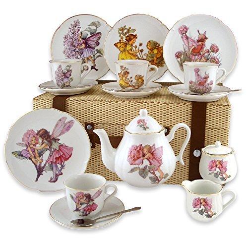 Large Flower Fairy Tea Set