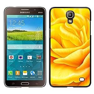 Crème au beurre - Metal de aluminio y de plástico duro Caja del teléfono - Negro - Samsung Galaxy Mega 2