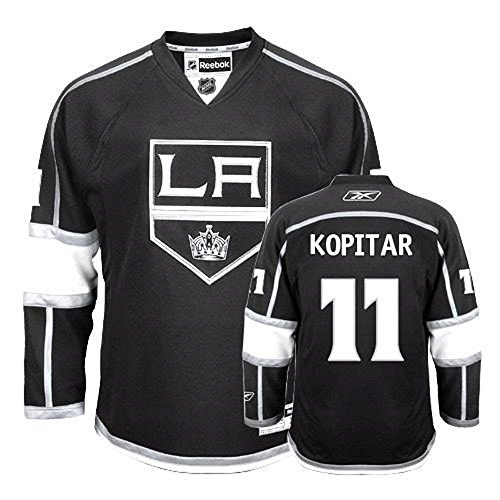 - Anze Kopitar Los Angeles Kings NHL Youth Black Home Replica Jersey (Size Large/X-Large)