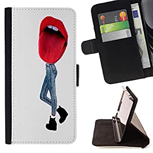 Super Marley Shop - Leather Foilo Wallet Cover Case with Magnetic Closure FOR HTC Desire D816 816 d816t- Funny Kidding Pattern Art Cartoon Cute