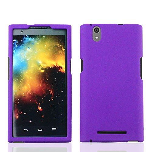imaxr-matte-hard-skin-case-snap-on-protective-cover-for-zte-z-max-z970hard-purple