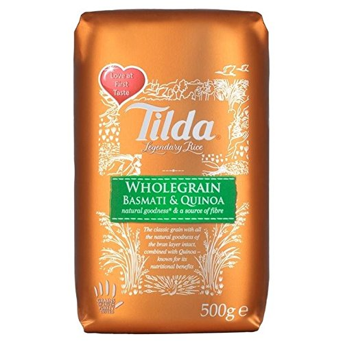 Tilda Wholegrain Basmati & Quinoa 500g - Pack of 6 by Tilda