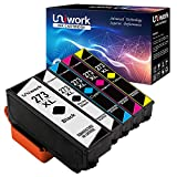Uniwork 273XL Ink Cartridge Remanufactured for Epson 273XL 273 XL use in Epson XP-820 XP-810 XP-800 XP-620 XP-610 XP-600 XP-520 Printer, 5 Pack (1 Black, 1 Photo Black, 1 Cyan, 1 Magenta, 1 Yellow)