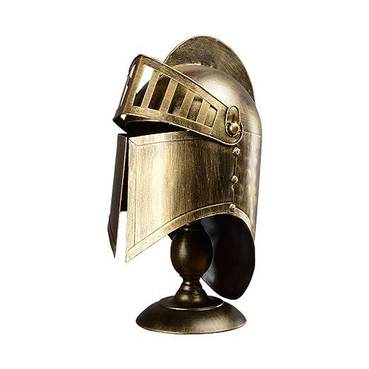 Jay Lámpara de Mesa de Casco Cerrado Europeo Medieval/Templar ...