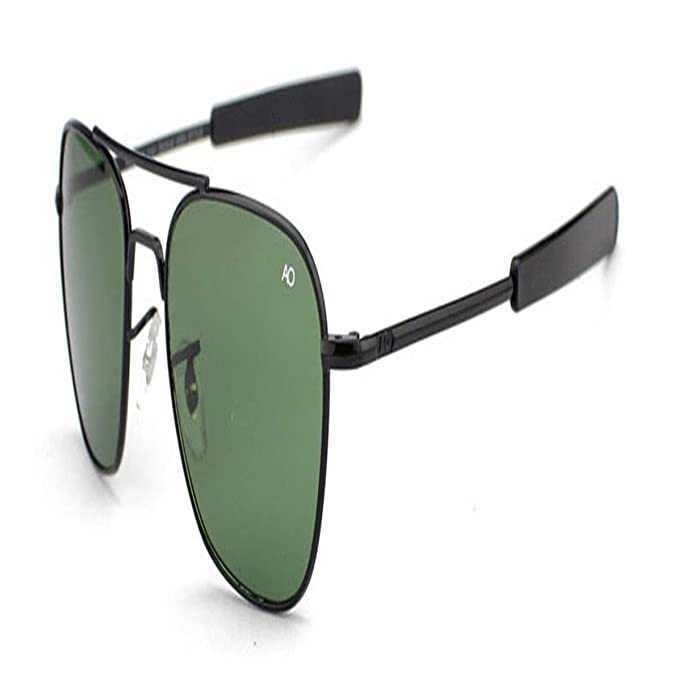 Gafas de sol deportivas, gafas de sol vintage, Fashion Aviation Sunglasses Men AO Sun Glasses For Male American Army Military Optical Glass Lens ...