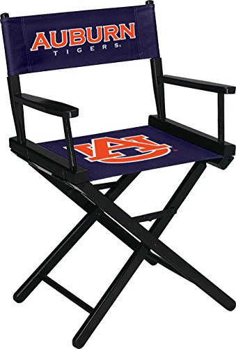 Imperial Officially Licensed NCAA Merchandise: Directors Chair (Short, Table Height), Auburn Tigers