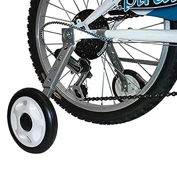"""MV-TEK Ruedas stabilizzatrici Ajustables 16 """" – 20 para Bicicleta con Cambio ("""