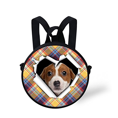 Cute Handbag Nyec4416i Round Print Backpack for Circle FancyPrint Cute Girls q617Rw1