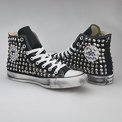 UK Trainers 21 Shoes Black 11 Women's Converse Size xw7nFqt607