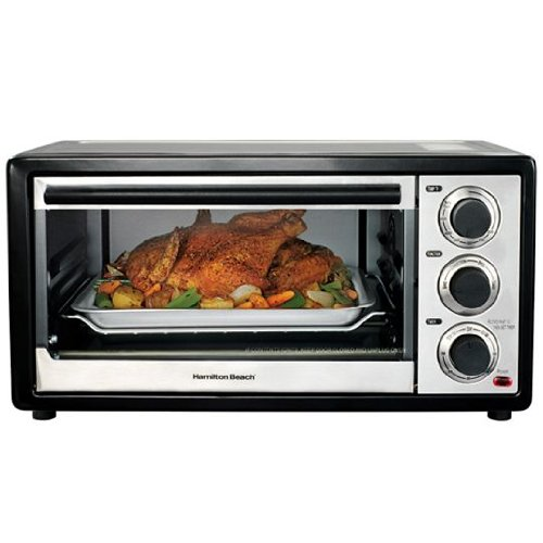 Hamilton Beach 31506 Compact CounterTop Convection 6 Slice/Broiler Toaster Oven Hamilton Beach Toaster And Convection Ovens