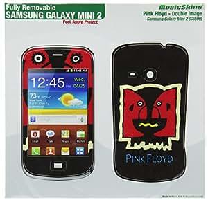 MusicSkins Pink Floyd doble Image Skin para Samsung Galaxy Mini 2