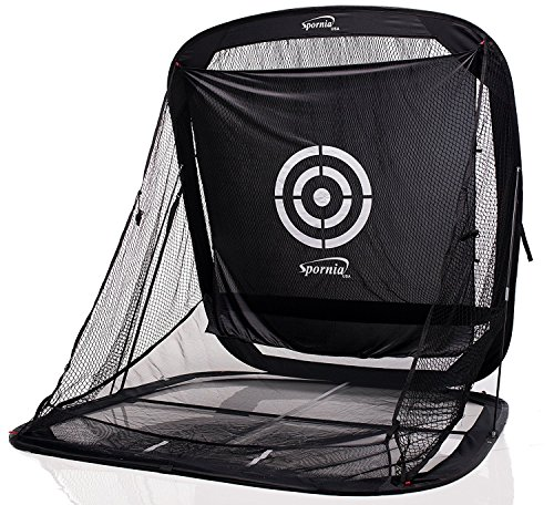 Spornia SPG-5 Golf Practice Net - Automatic Ball Return...