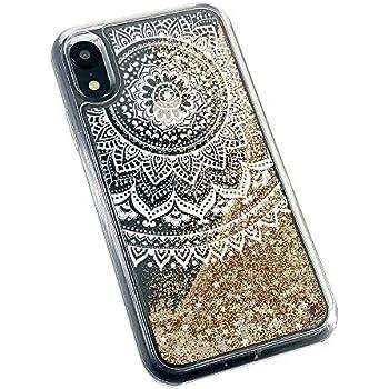Amazon.com: uCOLOR Gold Glitter Case Compatible iPhone XR