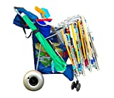 StoreYourBoard Replacement 12'' Wheels Kayak Dolly & Sand Carts - Big Beach Buggy Inflatable Tires