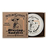 Blazing Saddles Solid Cologne - The Sexiest Cologne Ever - 1 oz - Western leather, gunpowder, sandalwood, and sagebrush in a pocket sized tin - Men's or Women's Cologne