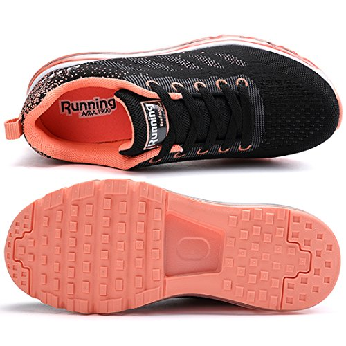 Basket Ragazza Fitness SUADEEX Rosa da Shoes Casual Scarpe Uomo Corsa Sportive Scarpe Donna Unisex Basse Gym Ragazzo da Sneakers Basse Ginnastica Running q1Zwxq7Onr