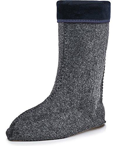 Women's Boots EVA Ladeheid Darkblue Rubber KL032 wqvn0d