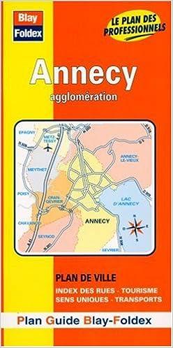 Plan de ville : Annecy (avec un index) pdf ebook