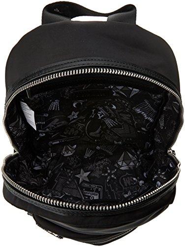 Steve Madden Bashh Backpack - Zaini Donna, Schwarz (Black), 12.5x30x23 cm (B x H T)