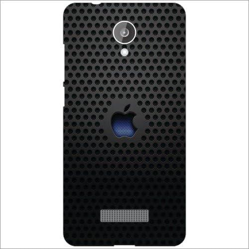 quality design 2d62e 85a41 Micromax Canvas Spark Q380 Back Cover - Silicon Apple: Amazon.in ...