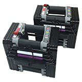 PowerBlock Elite Dumbbell Set, Black, 70-Pound