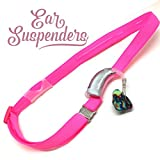 Ear Suspenders Headband for Hearing Aid Retention (hot pink)