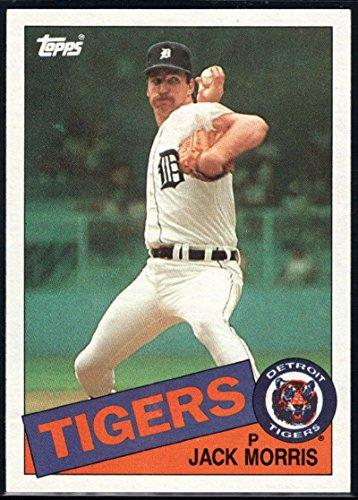 Baseball MLB 1985 Topps #610 Jack Morris Tigers ()