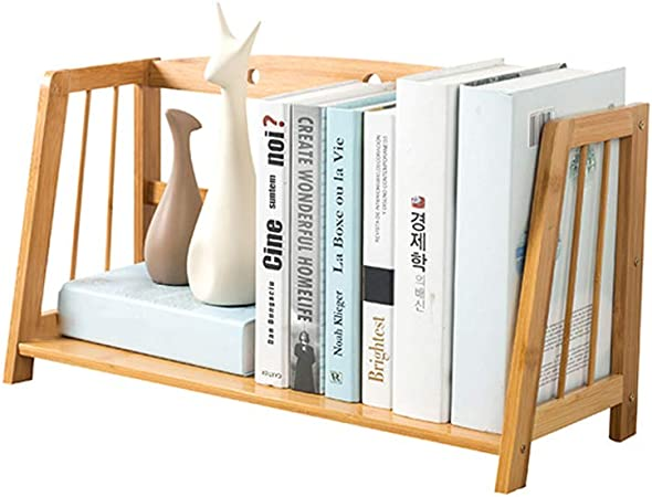 XUQIANG Mesa for Estudiantes Sencillo for niños Escritorio pequeño Estante for Archivos Escritorio de Almacenamiento Dormitorio Dormitorio Escalera Librería 43x22x28cm Estante para Libros (Size : M): Amazon.es: Hogar