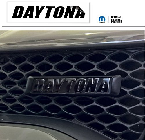 Reflective Concepts Daytona Grille Emblem Overlay Decal - 2017-2018 Charger Daytona - (Color: Bright Yellow)