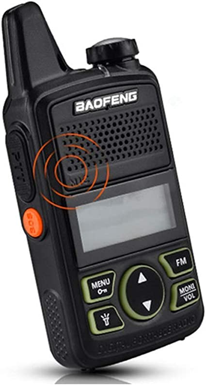 Baofeng BF-T1 Mini Talkie Walkie UHF Portable Two Way Radio: Amazon.es: Deportes y aire libre