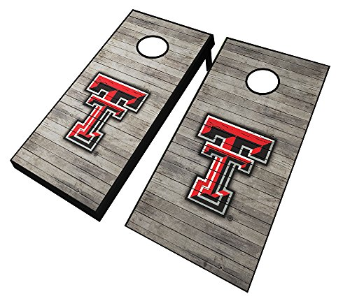 NCAA Texas Tech Red Raiders Distressed Cornhole Set with Bags, 24