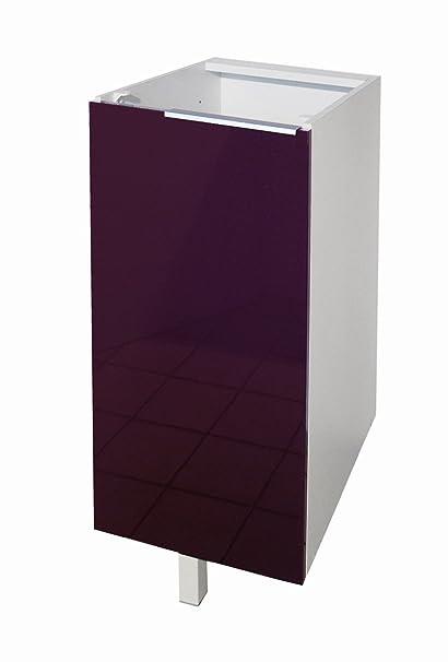 Berlenus CP3BA - Mueble bajo de cocina con 1 puerta (30 cm), color ...