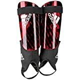 adidas Men's X REFLEX Shin Guards, Active Red/Black/Off White, Medium