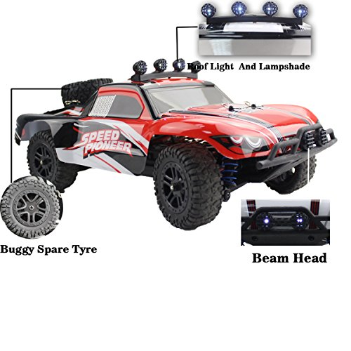 Fistone RC Car RTR High Speed Racing Monster Truck 4WD Rock