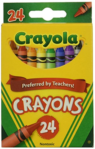 Wholesale: One Case of Crayola Crayons 24 Count (Case Contains 48 Boxes)]()