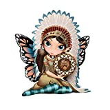 Jasmine Becket-Griffith Midnight Call Fairy Maiden Figurine With Dreamcatcher by The Hamilton Collection